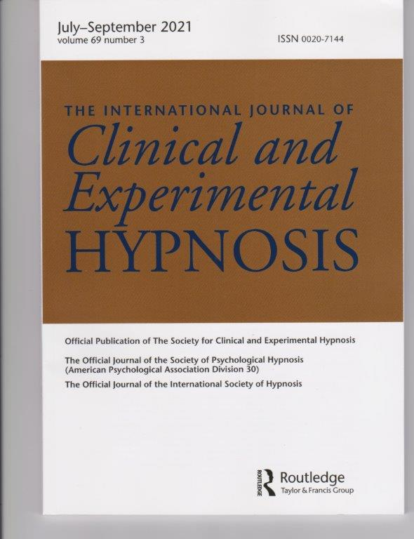 Journal: Clinical and Experimental Hypnosis