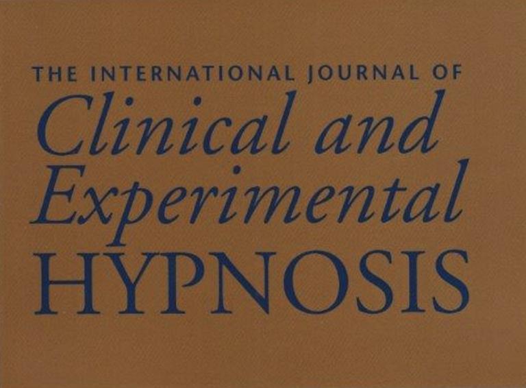 Internationalt tidsskrift om klinisk og experimental hypnose, vol 69 nr. 3